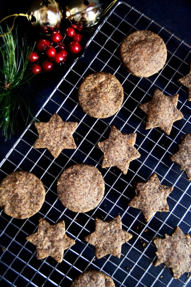 Intense Brown Butter Shortbread Cookies
