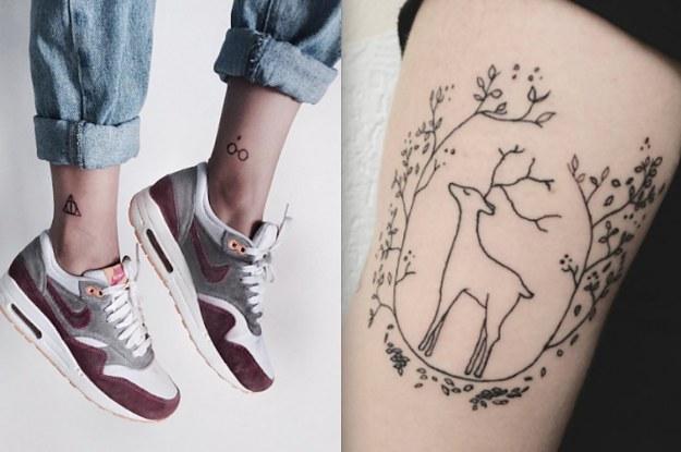16 Tatuajes De Harry Potter Que Son Brillantemente Sutiles