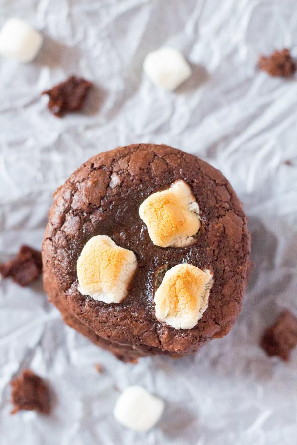 Brownie Mix Cookies
