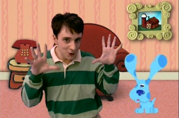 10 Gifs That Prove Steve From Quot Blue S Clues Quot Had Awesome