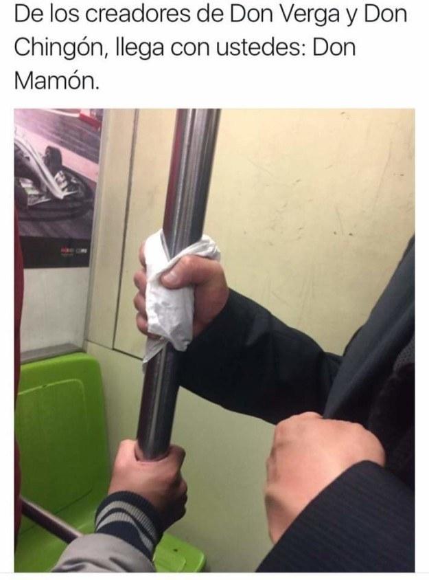 Y a su némesis, Don Mamón.