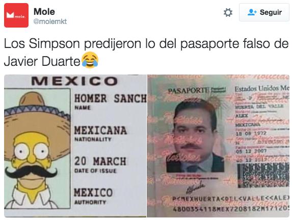 Las fechorías de Javier Duarte también dieron de qué hablar.