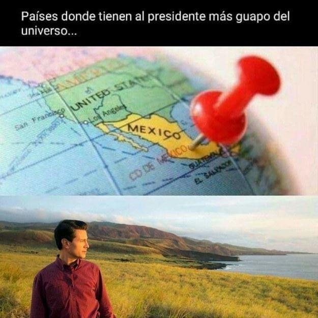 La foto de portada de Enrique Peña Nieto causó sensación en Facebook.