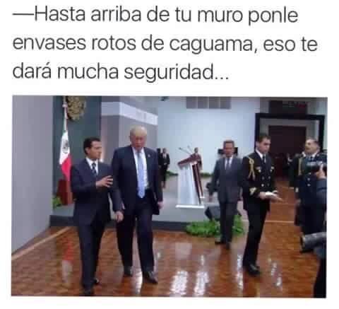 Donald Trump visitó México.