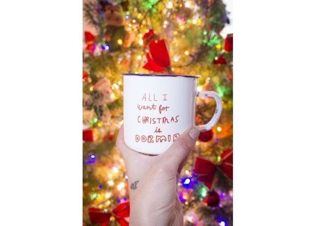 Esta velita que, probablemente refleja el deseo de todos esta Navidad ($150).