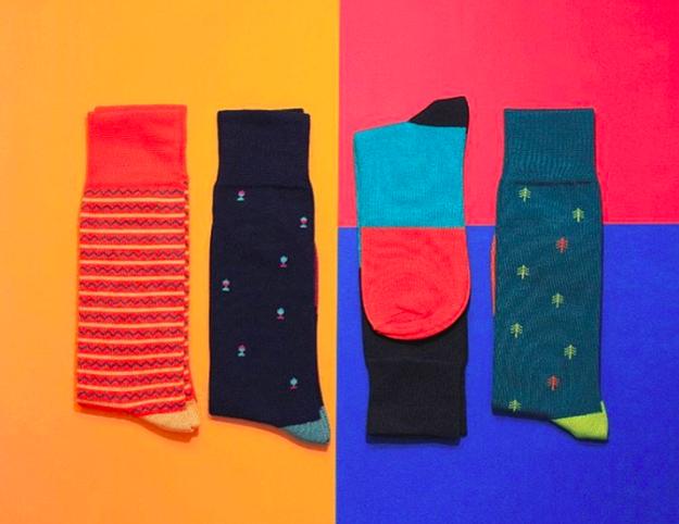 Si vas a regalar calcetines, que mínimo sean unos tan chidos como estos ($179 c/u).