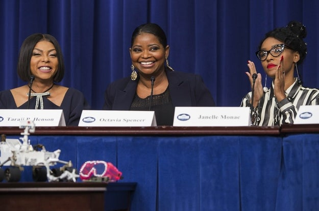 On Dec. 15, cast members from Hidden Figures attended a special screening of the film at the White House.