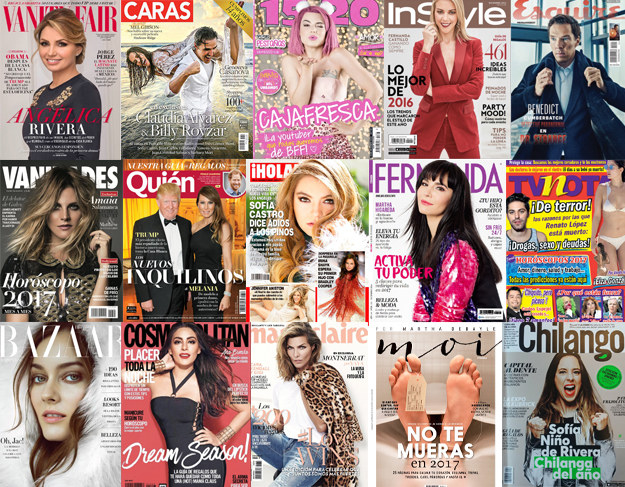 A recent analysis by BuzzFeed Mexico found that the country's most popular magazines are way whiter than the actual Mexican population. At least 80 percent of the people in the 15 publications we looked at have fair skin.
