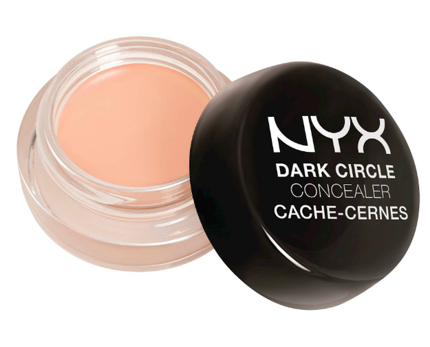NYX Dark Circle Concealer, an under-eye concealer that color-corrects without caking or flaking.