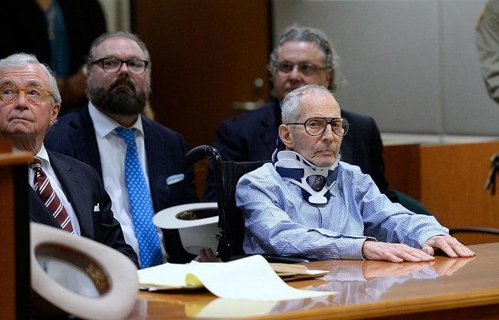 New York real estate heir Robert Durst in court on Nov. 7, 2016.