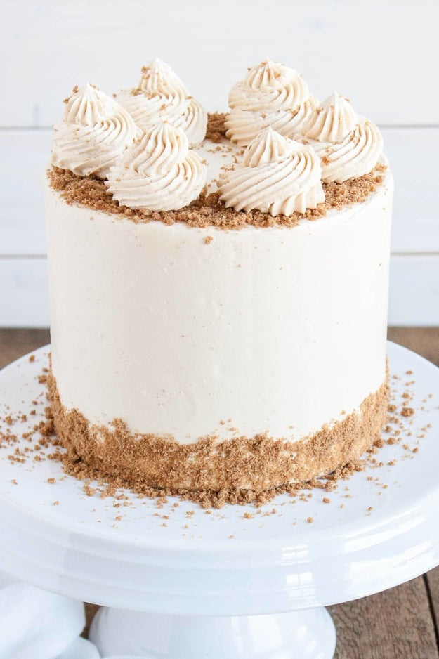 Cookie Butter Cake