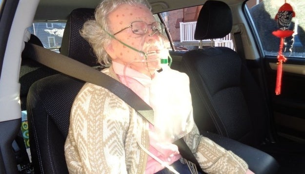 "On Friday, during a freezing cold morning in upstate New York, police responded to a 911 call from a citizen saying an elderly woman had ""frozen to death"" in her car."
