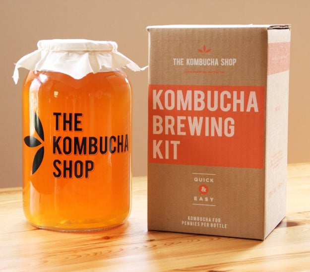 A kombucha brewing kit so they can create their own 'buch at home.