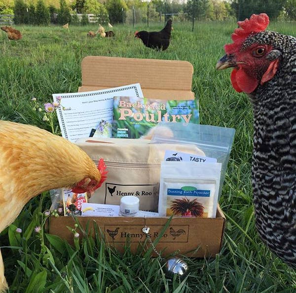 If you have a Joey or Chandler in your life, then this is the perfect box for them! Every month a selection of three treats for their chicken and one bag of coop herbs will be delivered to their door. Giving both them and their clucking pet a carefully selected and thoughtfully curated holiday present. Subscriptions with Henny & Roo begin at $21/month.