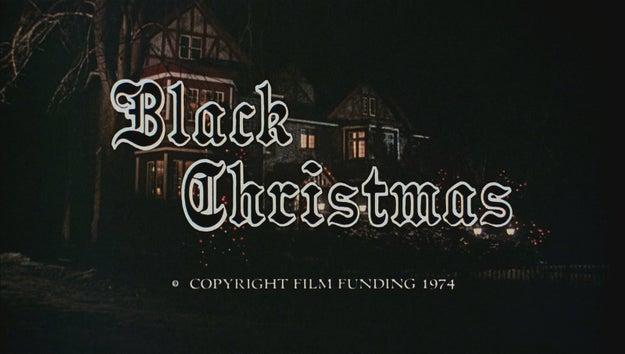 Black Christmas, 1974
