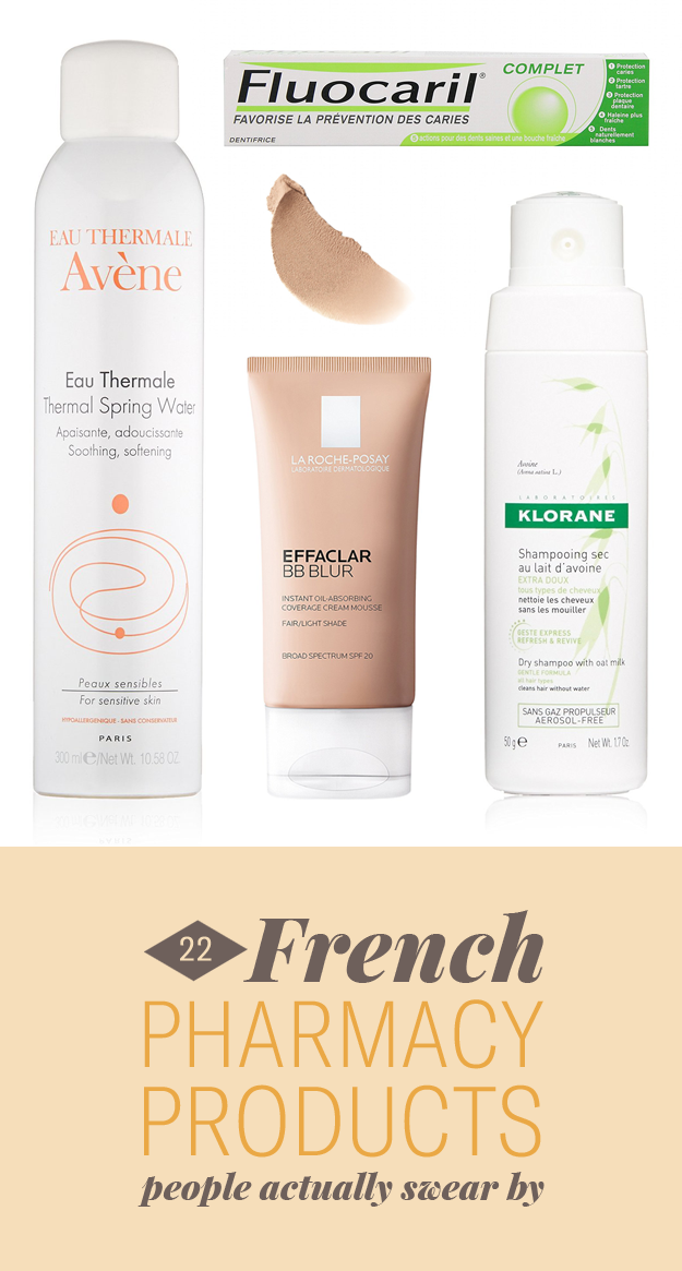top french skin care products