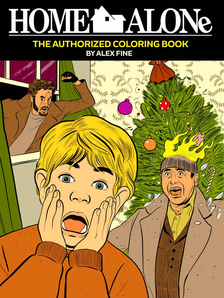 And Home Alone The Authorized Coloring Book For Wet Bandits