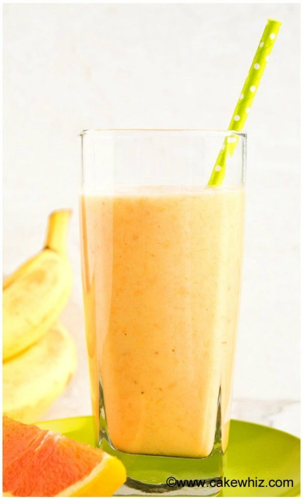 Banana Orange Mango Smoothie