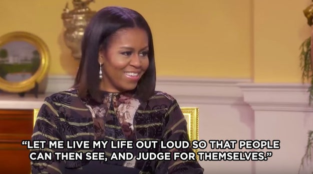 But instead of allowing the label to crush her, FLOTUS used it as motivation to live her life out loud.