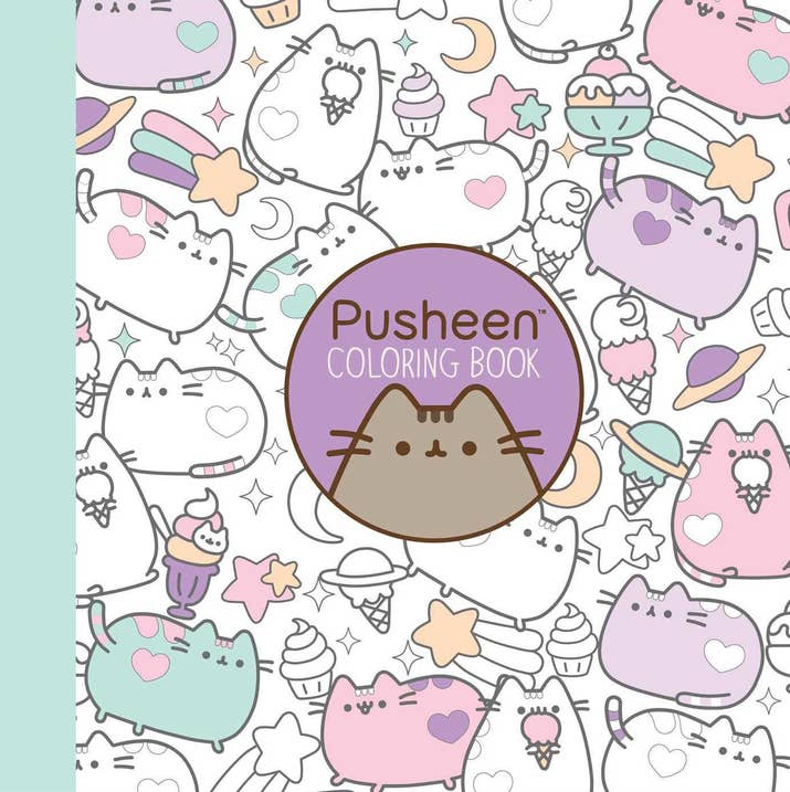 Pusheen Coloring Book For Surprise People Who Love