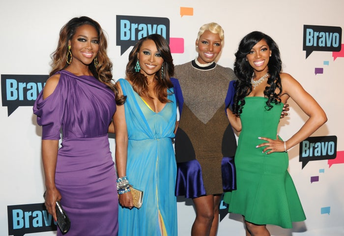 The Real Housewives of Atlanta 2013 cast members.