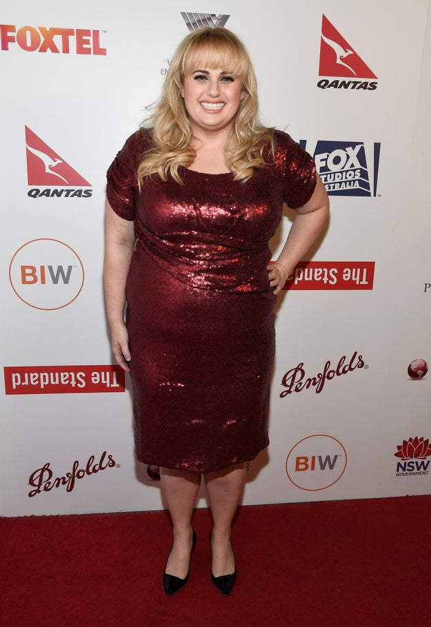 Shine à la Rebel Wilson: