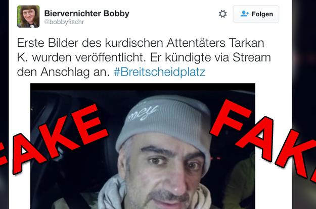 Berlin Attentat Fake