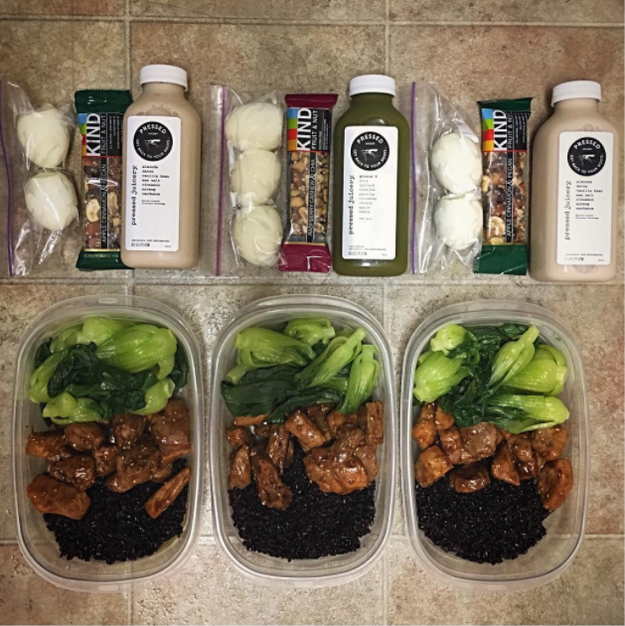 Did you start dedicating your Sundays to meal prep?