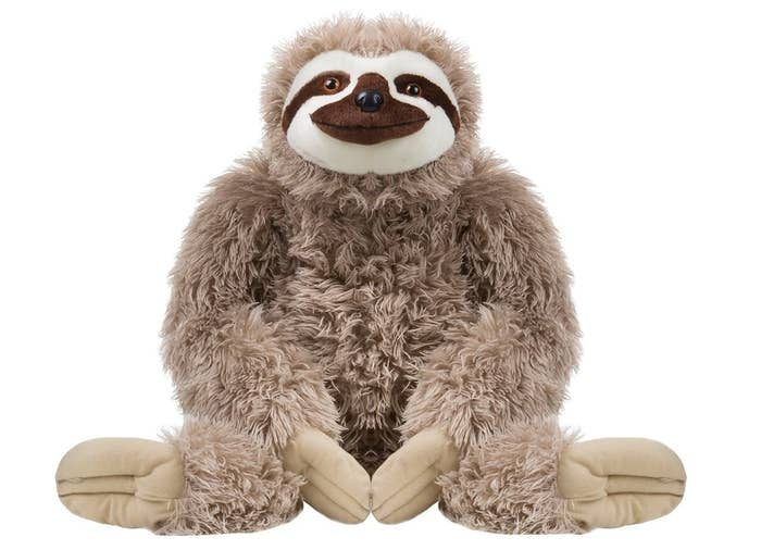 "Promising review: ""HUGE AND FLUFFY!!!! He's super adorable and so much fun to cuddle."" —krista sweitzerPrice: $55.39"