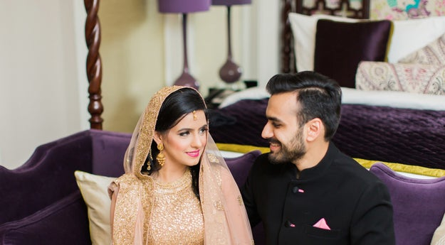 Meet 27-year-olds Huda and Maneet. They got married earlier this year in Dubai.