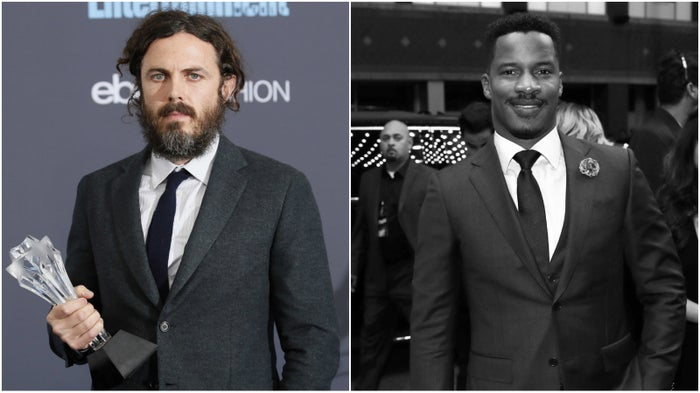 Affleck (left); Parker (right).
