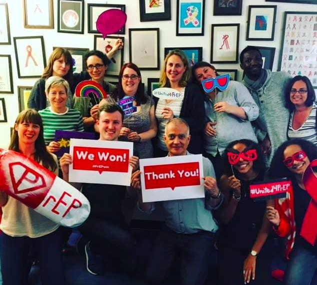National AIDS Trust staff