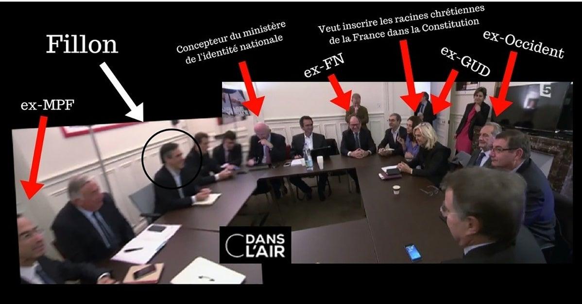 Ex du GUD, ex-FN, ex-MPF: le pedigree très réac de proches de Fillon