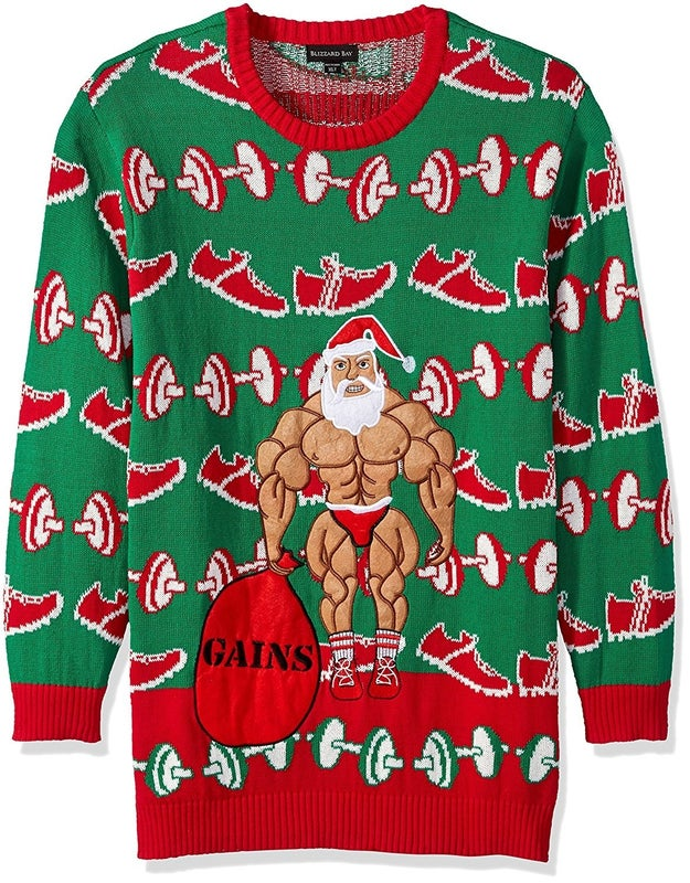 A sweater for people who do Crossfit.