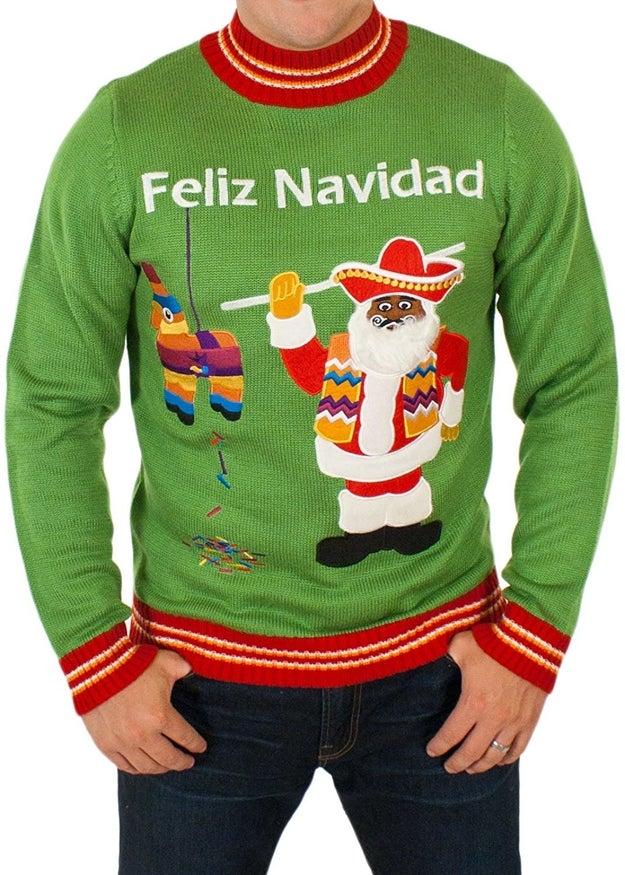 A sweater for 🎶 prospero año y felicidad. 🎶