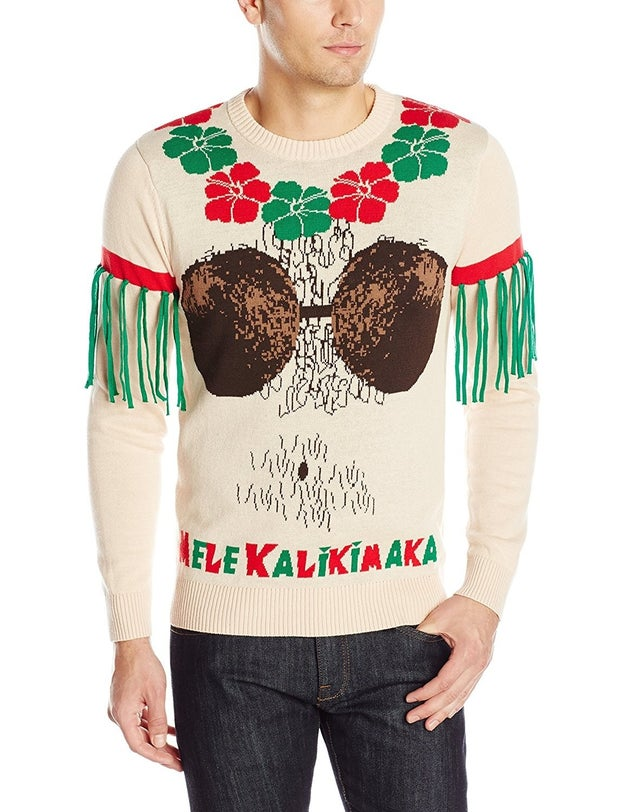 And a sweater for anyone celebrating the season in warmer climes.