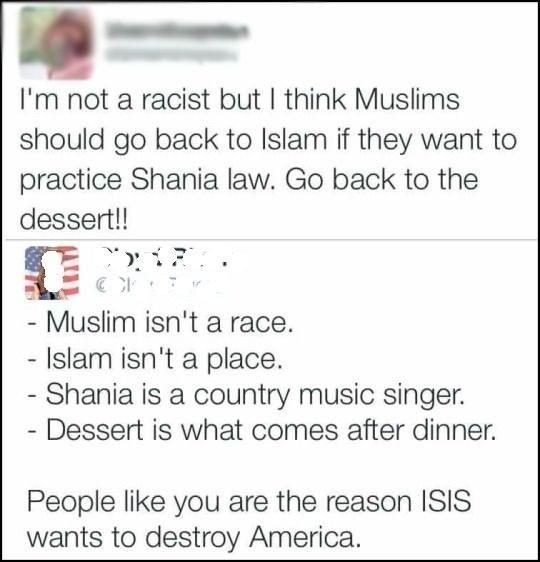 Shania law: