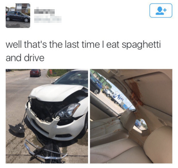 The spaghetti incident: