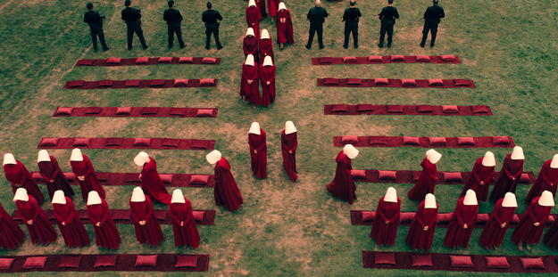 The Handmaid's Tale premieres in April 2017, and we can't wait to see more!