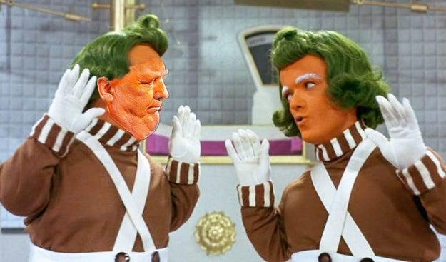Tú eres el Willy Wonka de este cuento, Donald. Que no te digan nada.