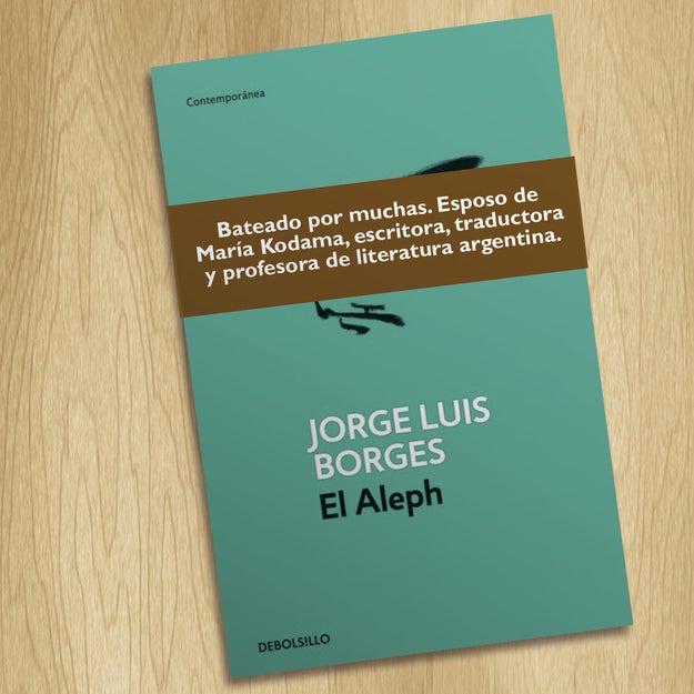 Ay, pobre Borges, lo que tenía de genio lo tenía de feo.