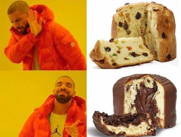Alianza para un mundo con menos pasas, y más Nutella.