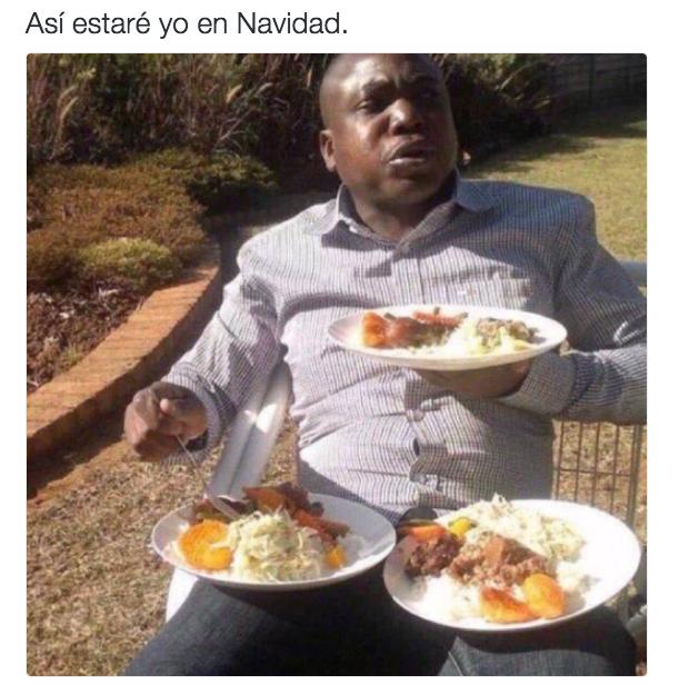 Y obvio, para nosotros un plato de comida navideña NUNCA es suficiente.