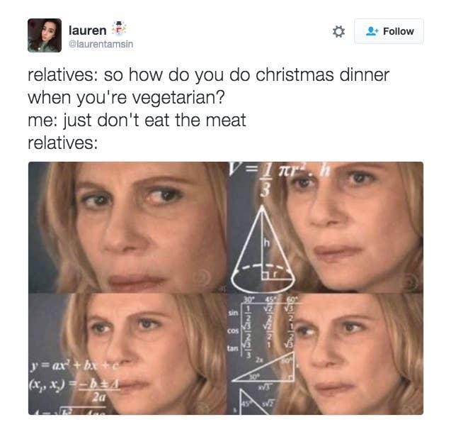 okay so now you re a vegetarian butts lauren