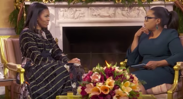 Last night Michelle Obama sat down with Oprah for her final interview in the White House and they talked about lots of important things. But they left out one very pressing matter that I'd like to discuss.
