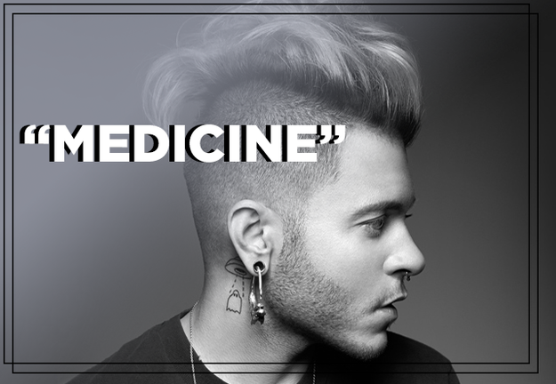 "Ferras feat. Raja Kumari, ""Medicine"""
