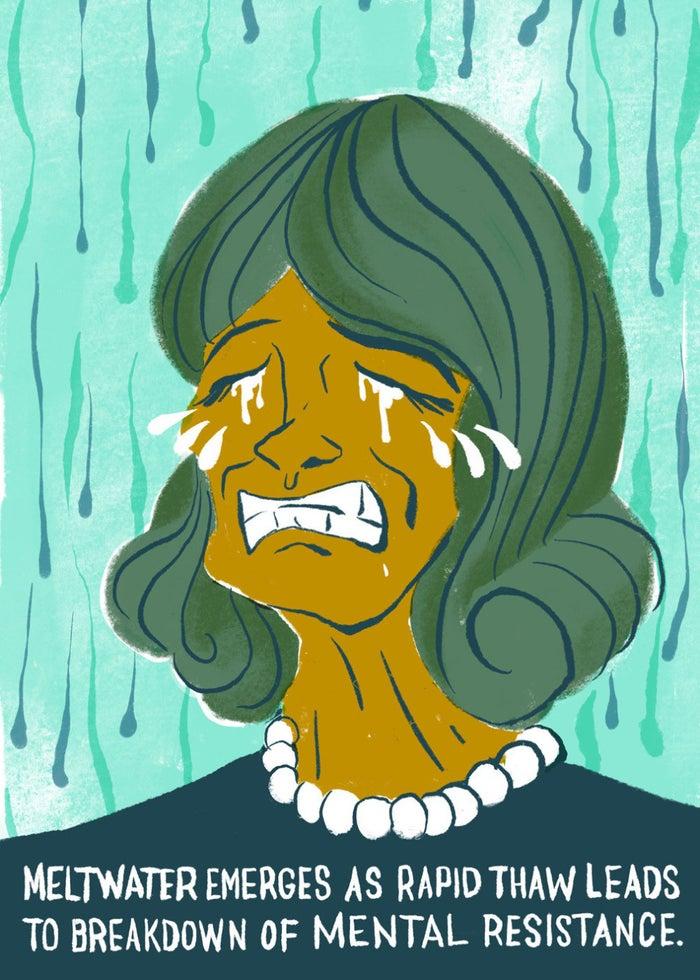 """Gloom may persist for several weeks or months."""