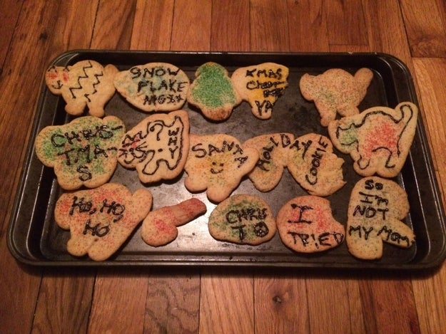 These Christmas cookies, which really are something else.