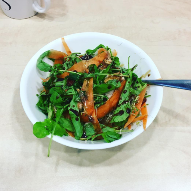 Salads with wilted greens, little protein, and zero textural variety are the face of hunger.