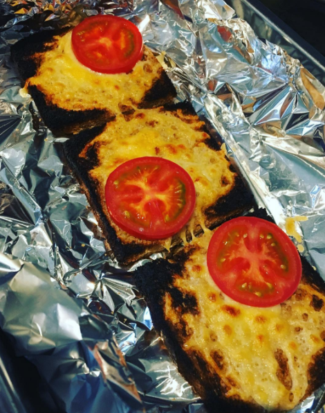 This low-fuss cheese on toast.